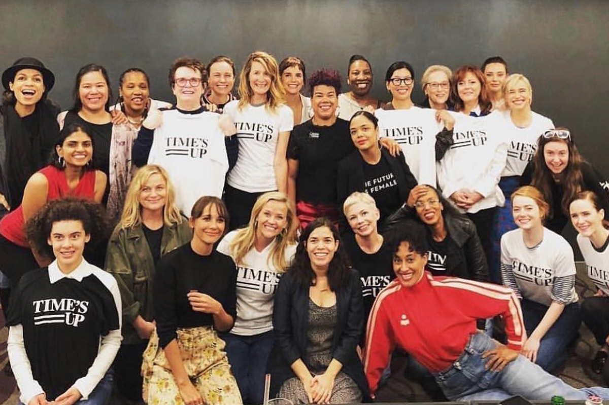Time's Up Says Lena Dunham Was Not Part of the Movement