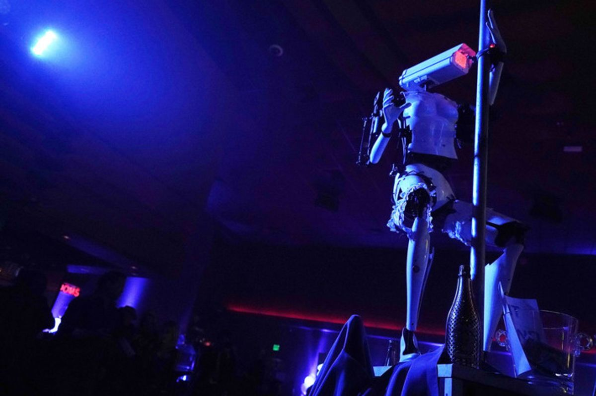 The Future is Here and it's Twerking Robot Strippers