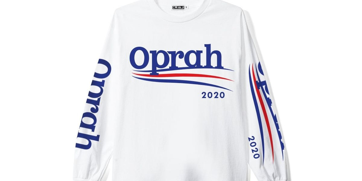 BRB, Buying All This 'Oprah 2020' Merch