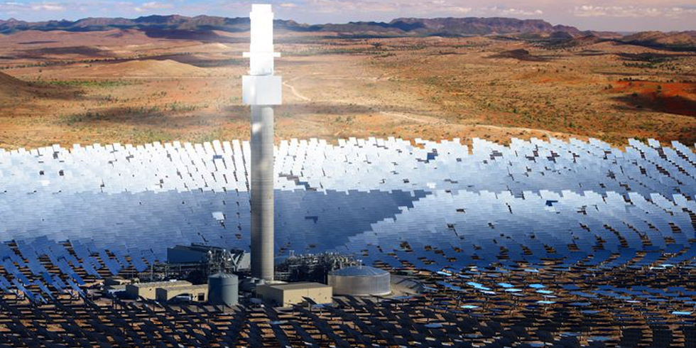 World's Largest Solar Plant Secures Key Milestone in Development