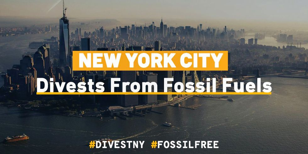 'Tide Is Turning': Cheers Erupt for NYC's Suit Against Fossil Fuel Giants and for Divestment