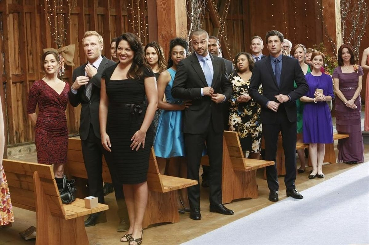 The Best Wedding Dresses Our Favorite Doctors Wore On 'Grey's'