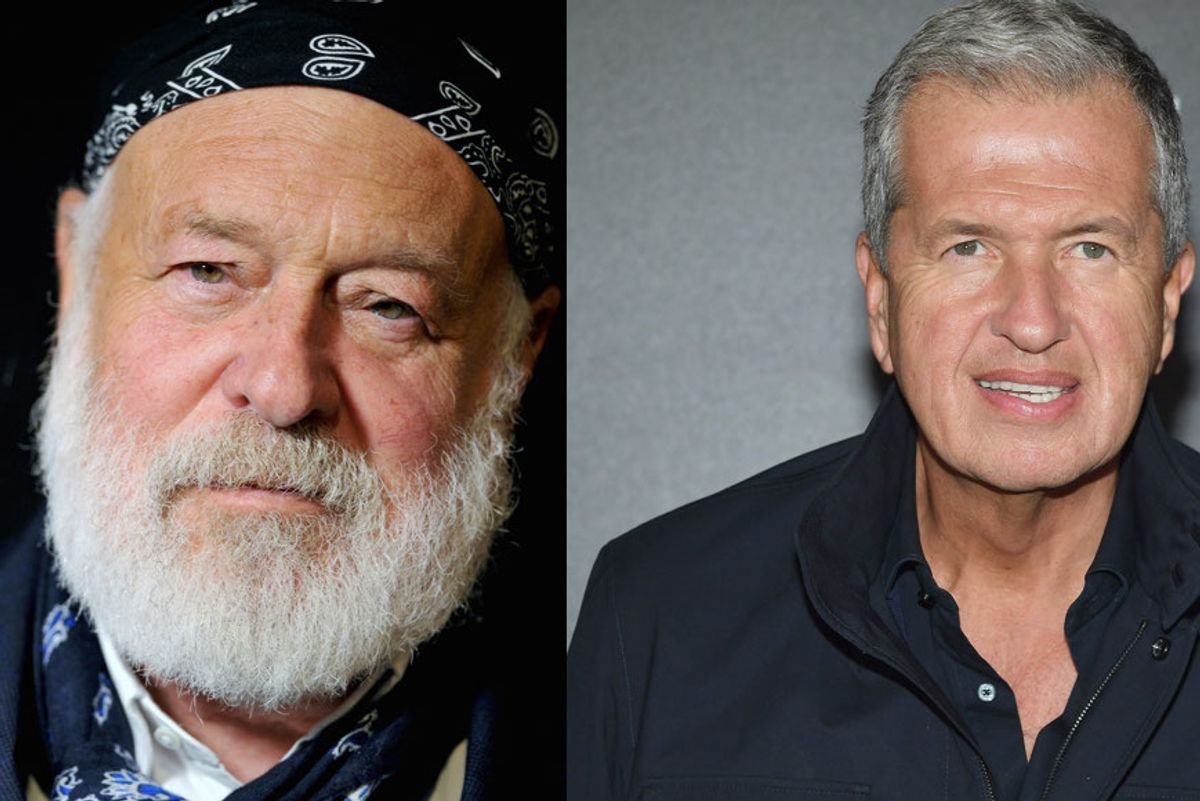 Mario Testino and Bruce Weber Accused of Sexual Exploitation by Male Models and Assistants