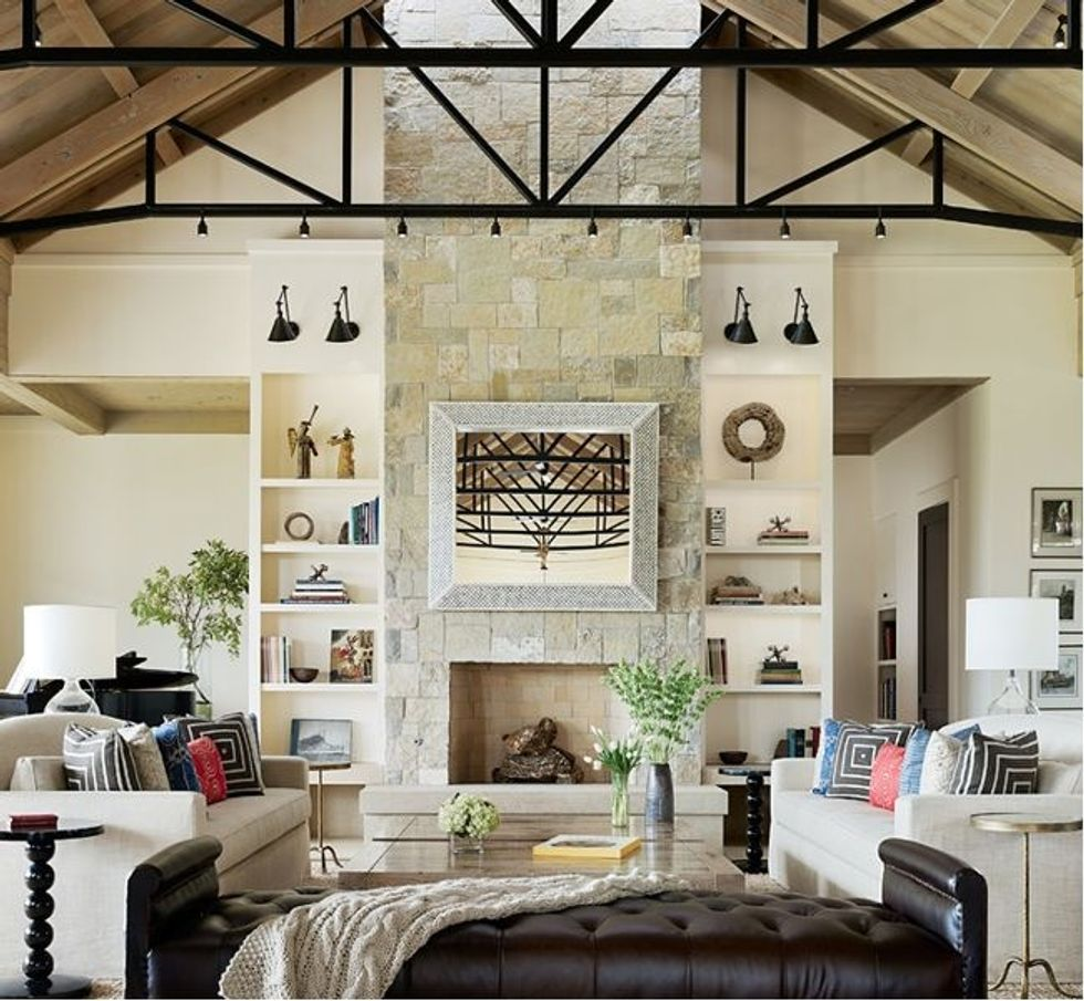 A family home becomes a modern ranch house of dreams - 7x7 ... on family room cottage, family room mansion, family room modern house, family room bi-level house, dining room ranch house, living room ranch house,