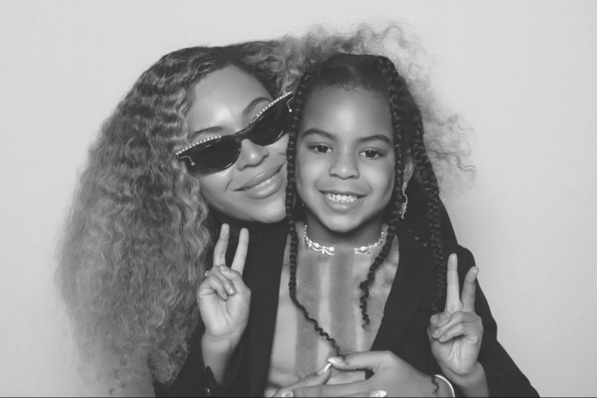Blue Ivy is getting grown, and so are you