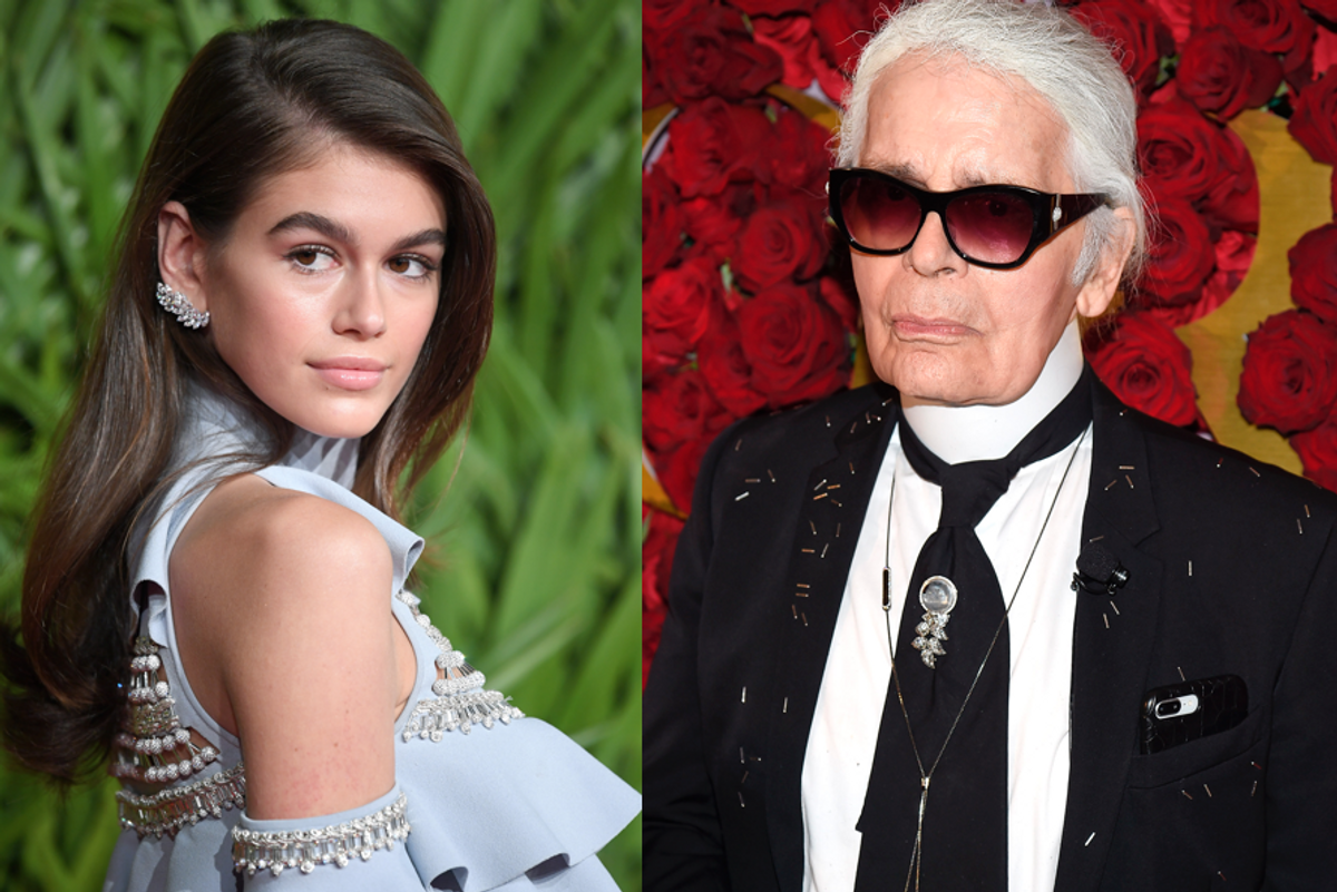 Kaia Gerber and Karl Lagerfeld Are Teaming Up to Design a Collection