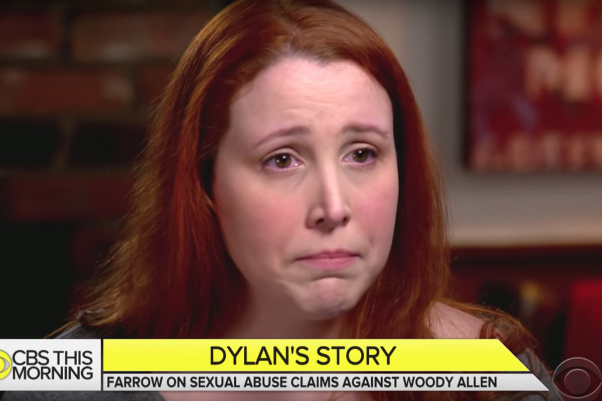 Dylan Farrow Recounts Woody Allen Abuse On Camera