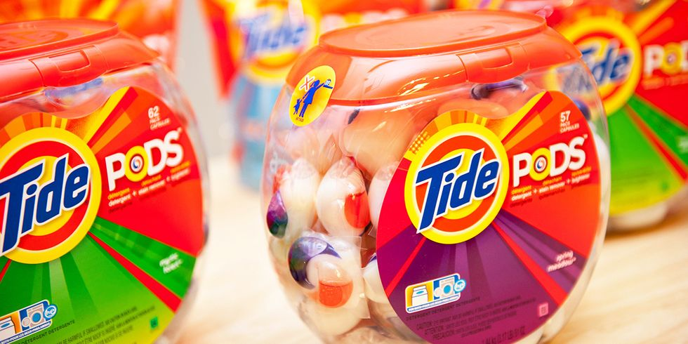 'Tide Pod Challenge' Highlights Danger of Colorful Laundry Packets