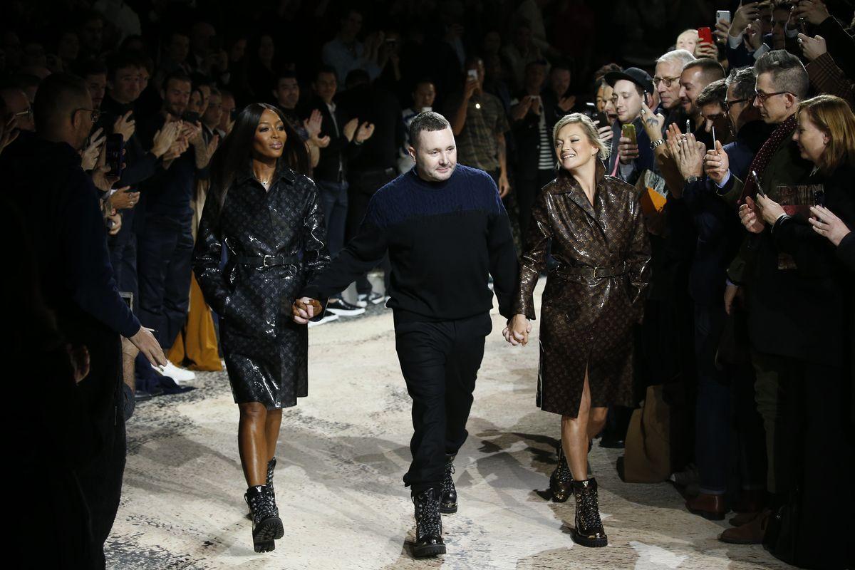Kim Jones Farewells Louis Vuitton with Naomi Campbell and Kate Moss