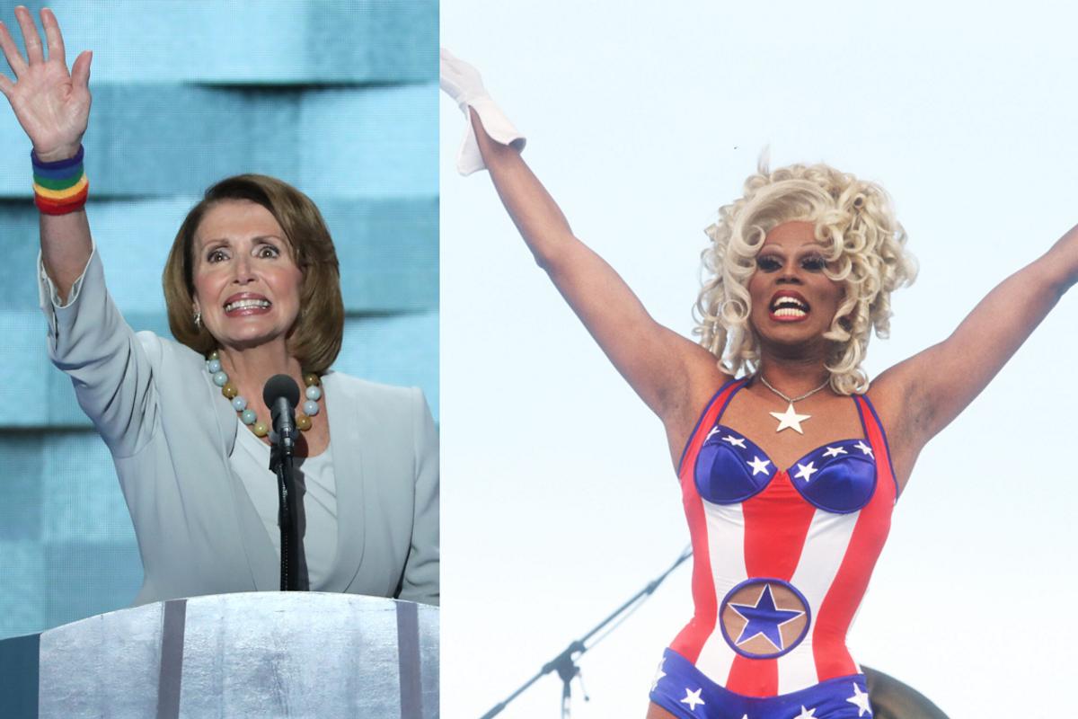 Nancy Pelosi Will Guest Judge 'RuPaul's Drag Race: All Stars'