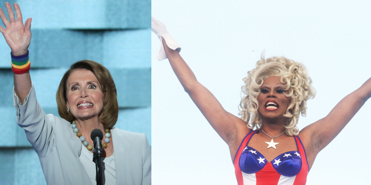 Nancy Pelosi Will Guest Judge 'RuPaul's Drag Race: All Stars'