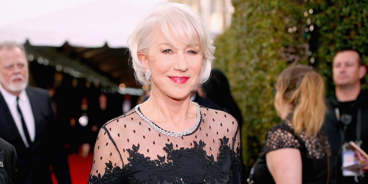 Helen Mirren Says Men Exposed Themselves to Her Weekly