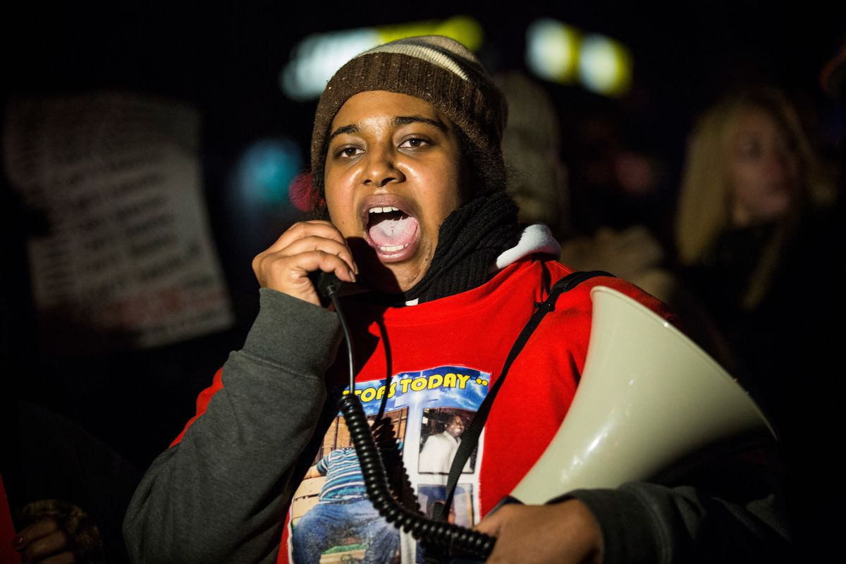 Erica Garner's Family's Request to Speak with Only Black Journalists Is Its Own Call to Action