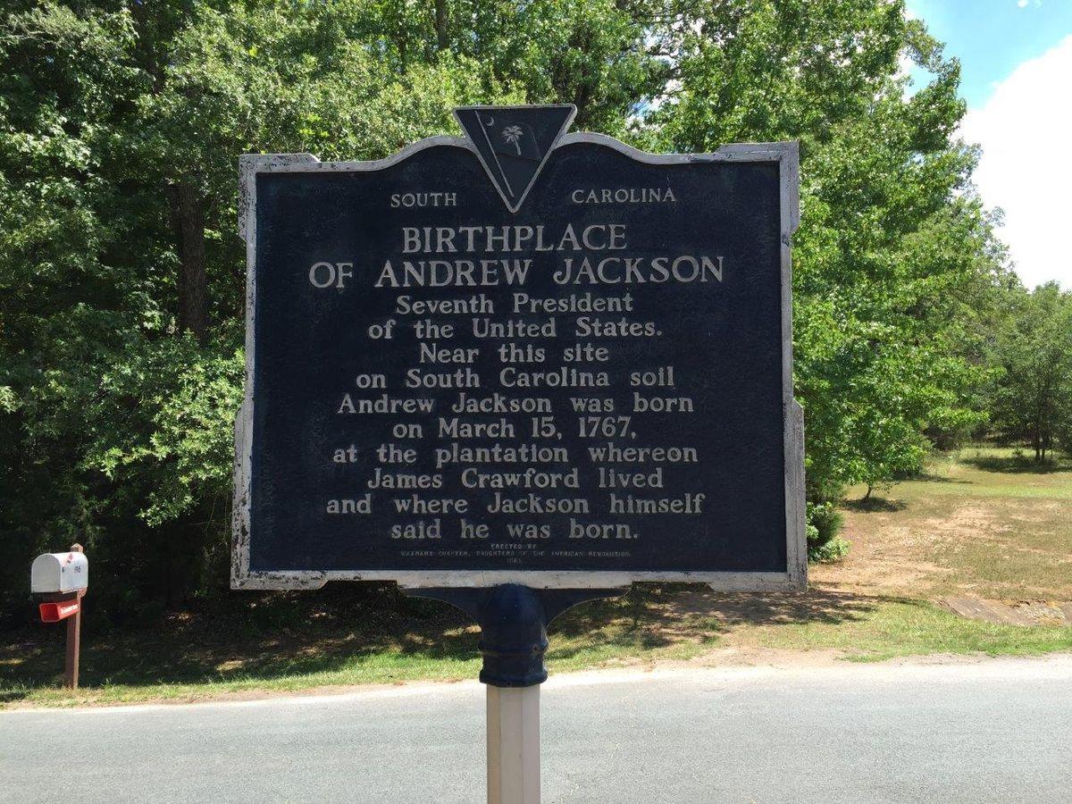Why Do We Still Like Andrew Jackson Here In South Carolina?