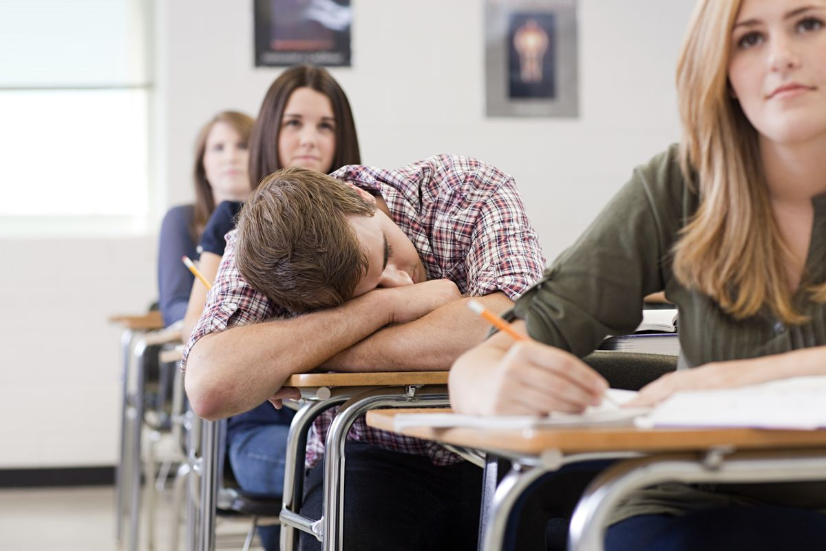 Yes, I Am The Girl Who Falls Asleep In Class