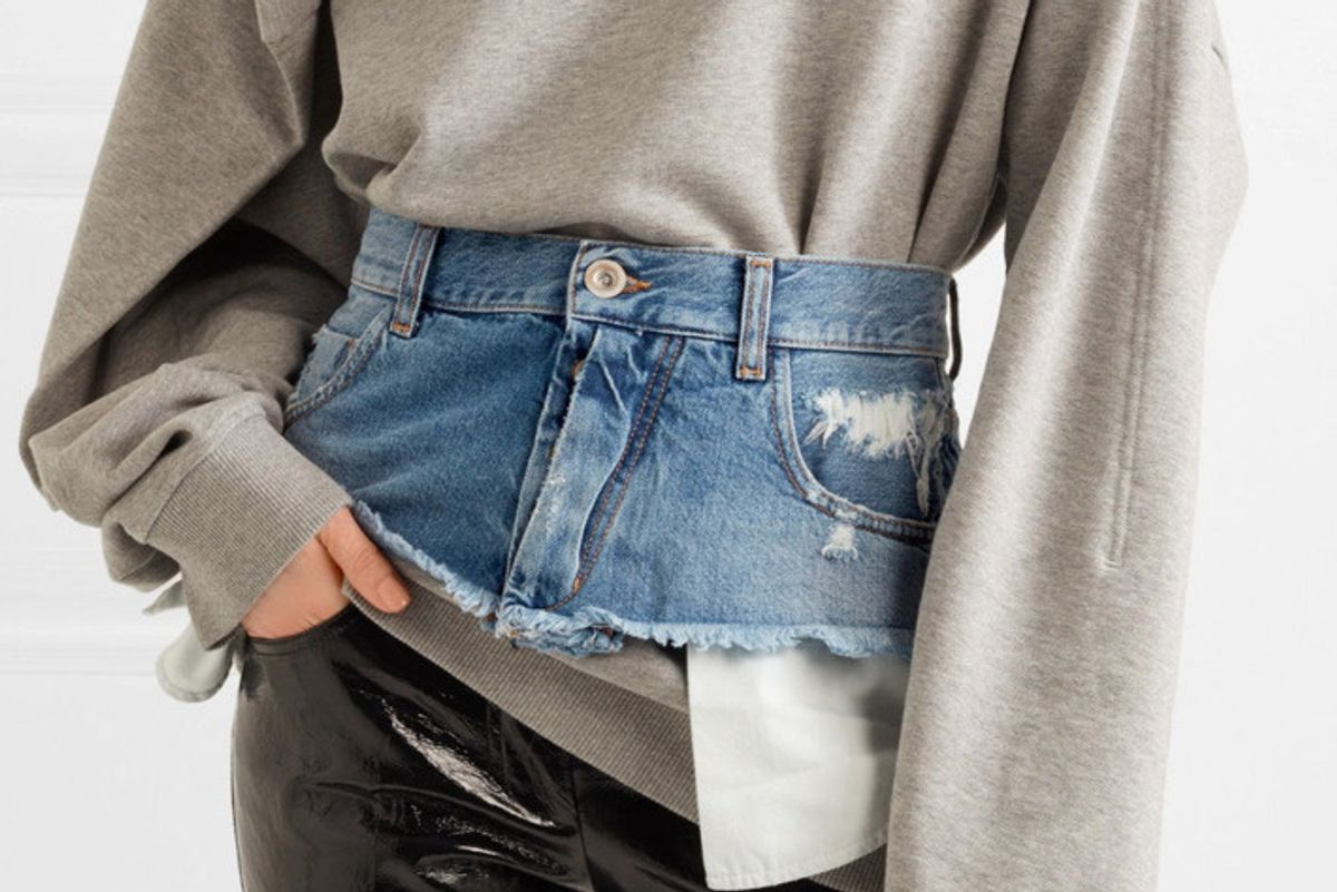 The Hottest New Denim Trend is Crotchless, Legless Jeans