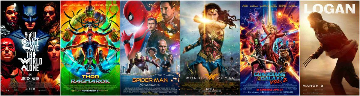 Are There Too Many Superhero Movies?