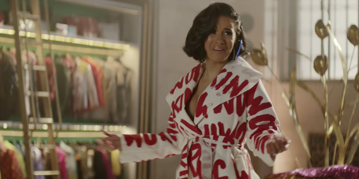 Cardi B Shines in Her Super Bowl Commercial