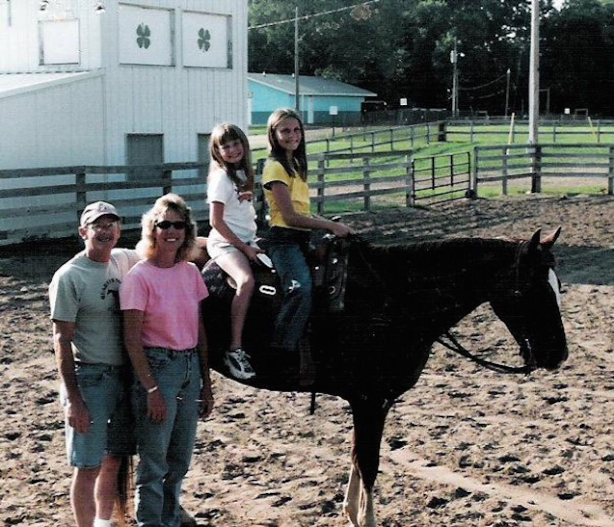 What It Was Really Like To Grow Up On, And With, Horses