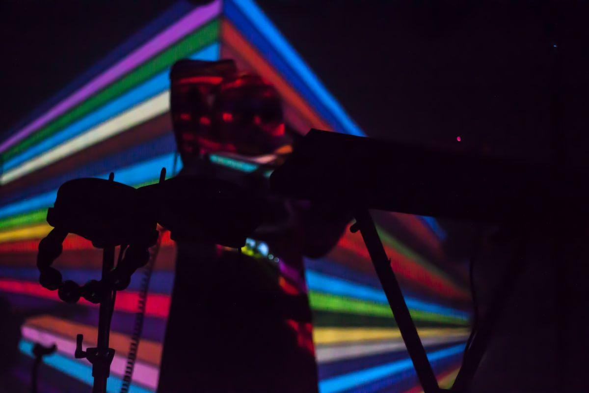 9 Psychedelic Photos From STRFKR At The Van Buren
