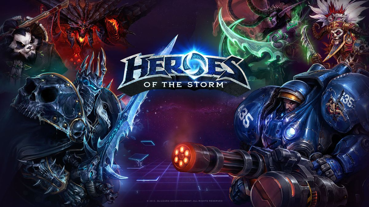 WANTED: Heroes of the Storm
