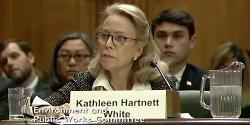 White House Withdraws Climate Skeptic for Top Environmental Job
