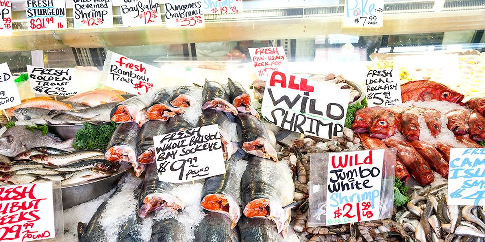 Eating Seafood Can Reduce Your Carbon Footprint, But Some Fish Are Better Than Others
