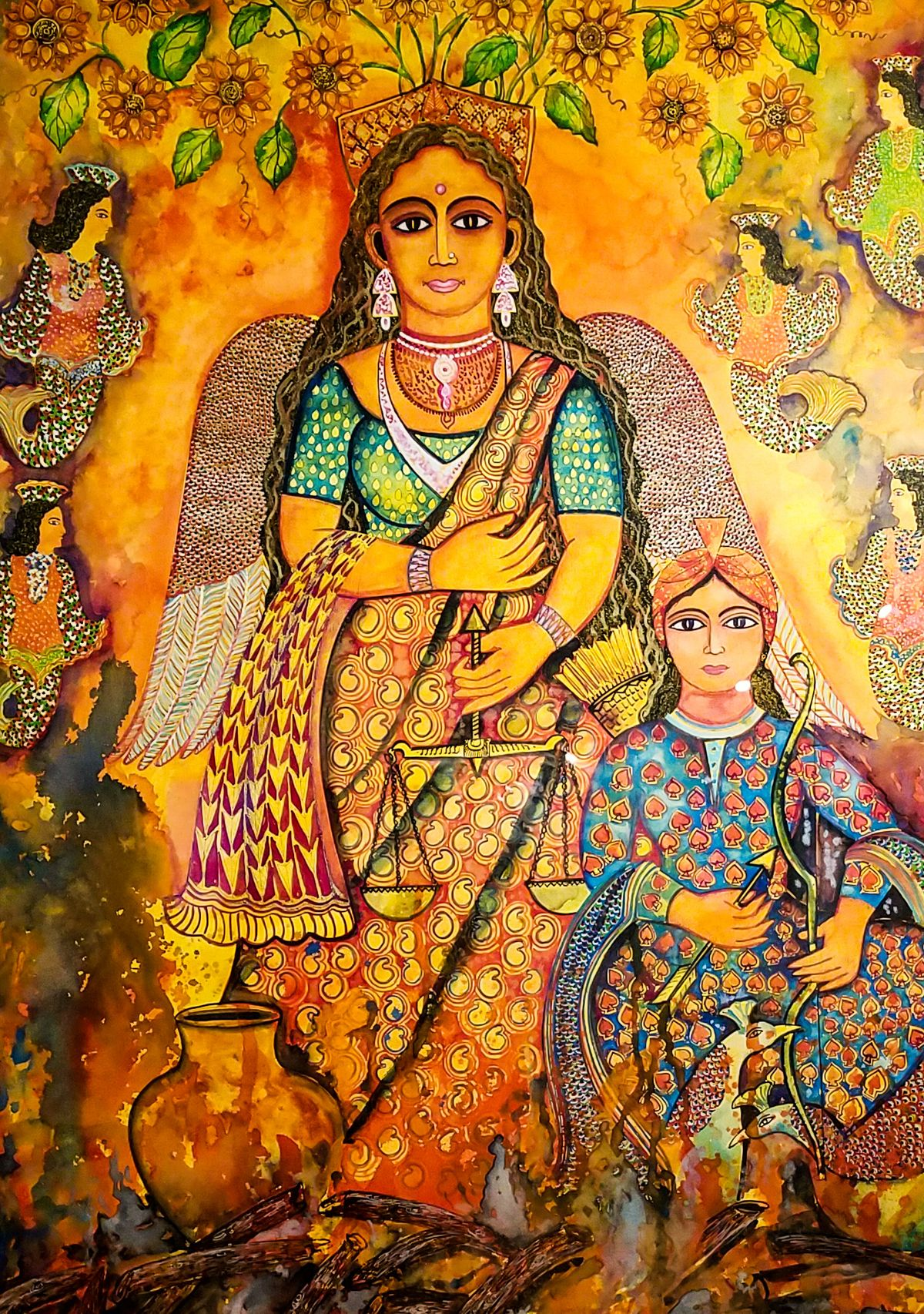 The Changing Lens On Women In South Asian Art