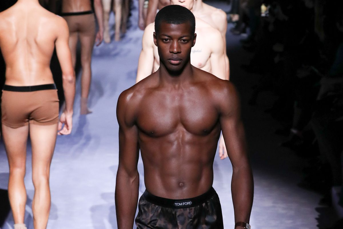 Tom Ford Matched Sex Socks to Skin Tones at NYFW