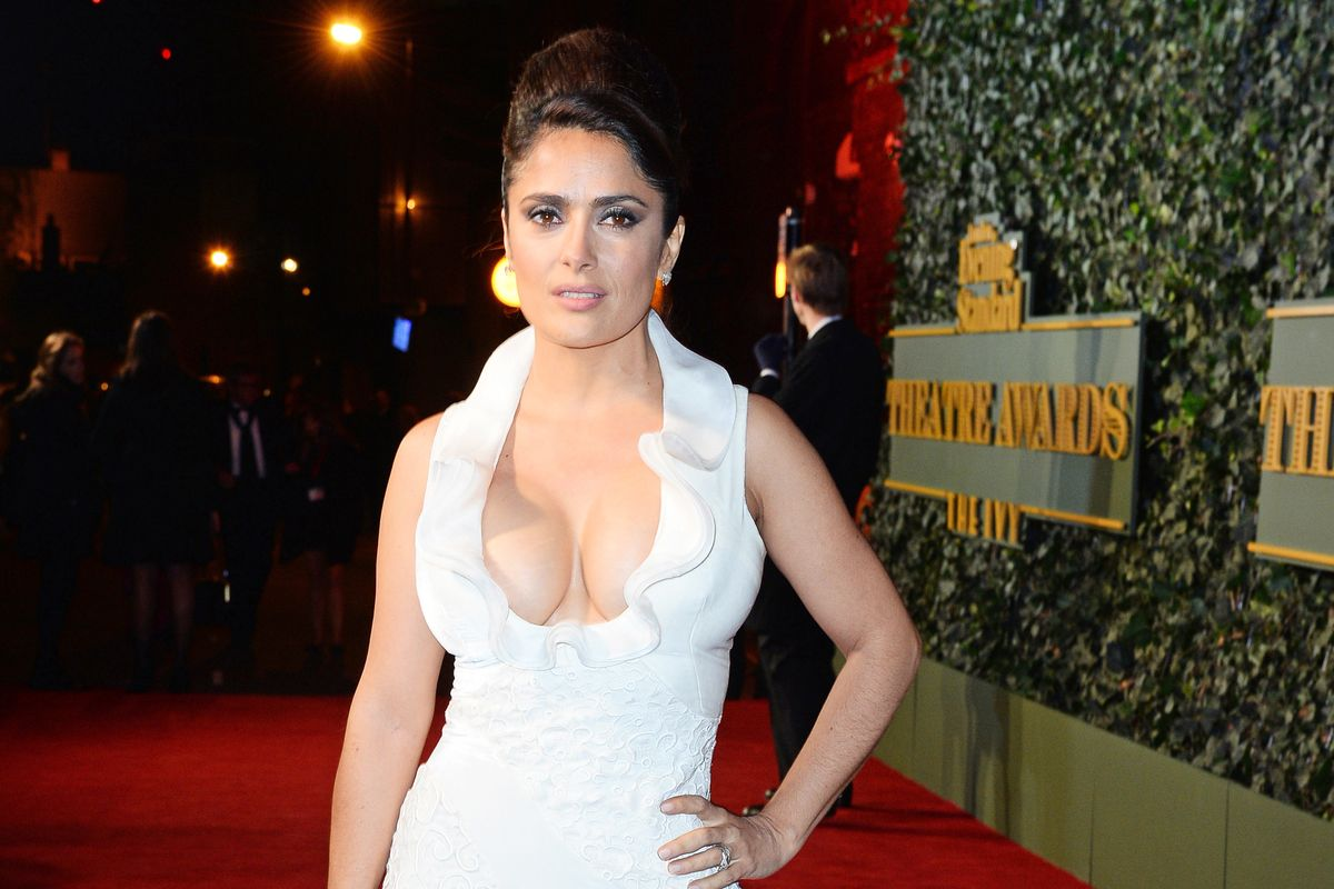 Salma Hayek Felt Like a 'Coward' for Not Coming Forward About Weinstein