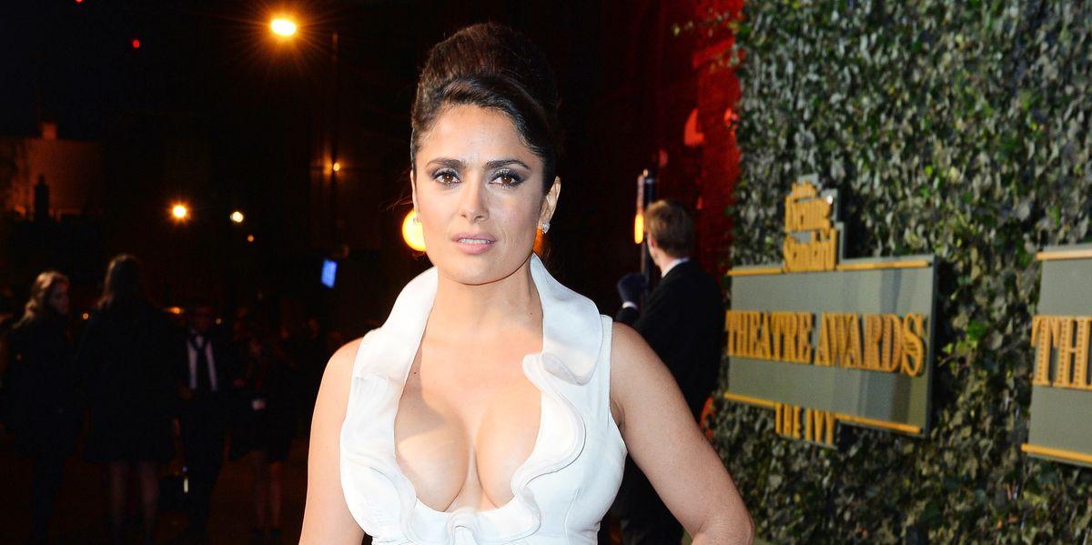 Salma Hayek Felt Like a 'Coward' for Not Coming Forward About Weinstein