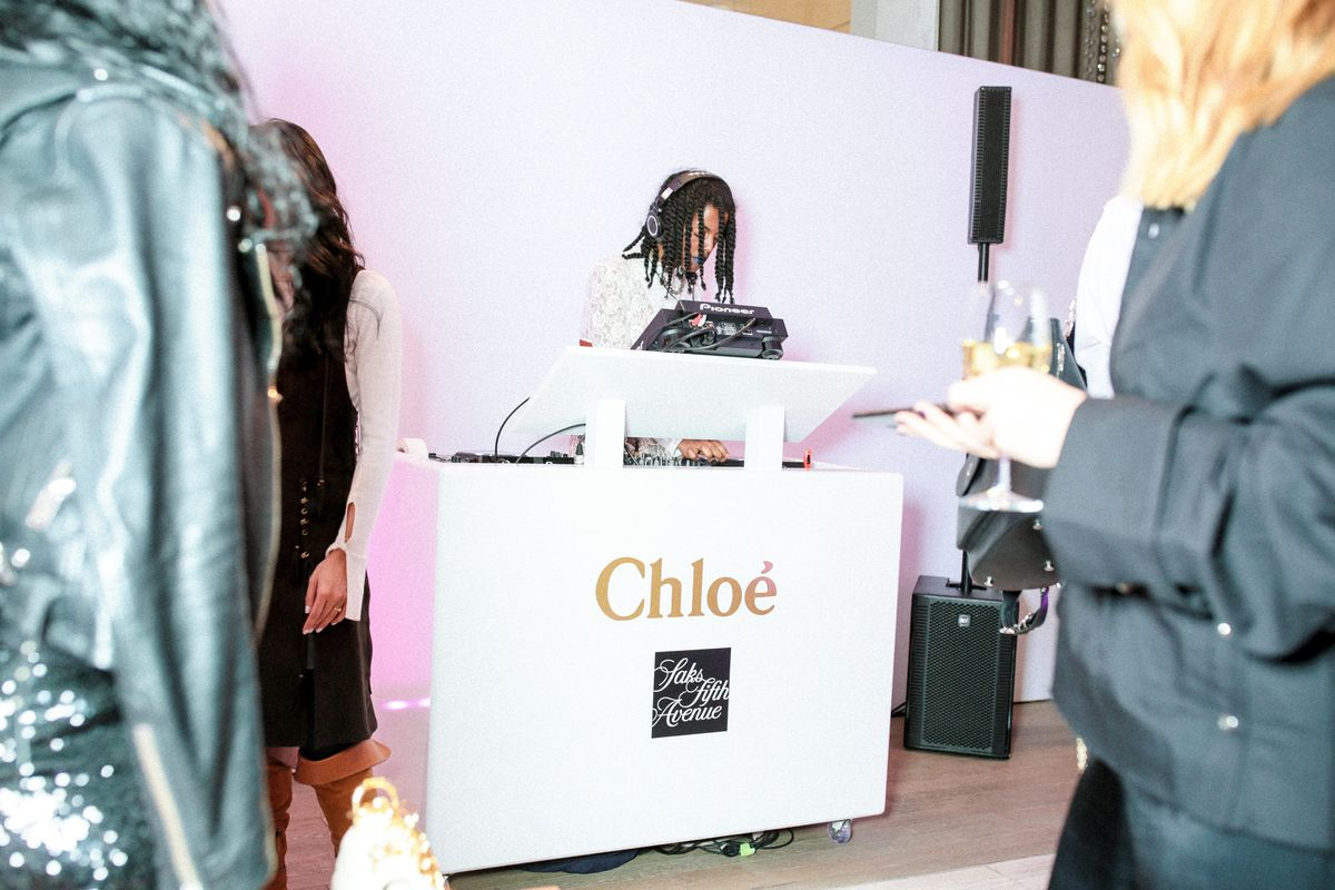 Here's What Went Down at Saks' Chloé Celebration