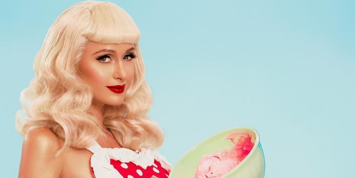 Paris Hilton Teases New Single for Valentine's Day