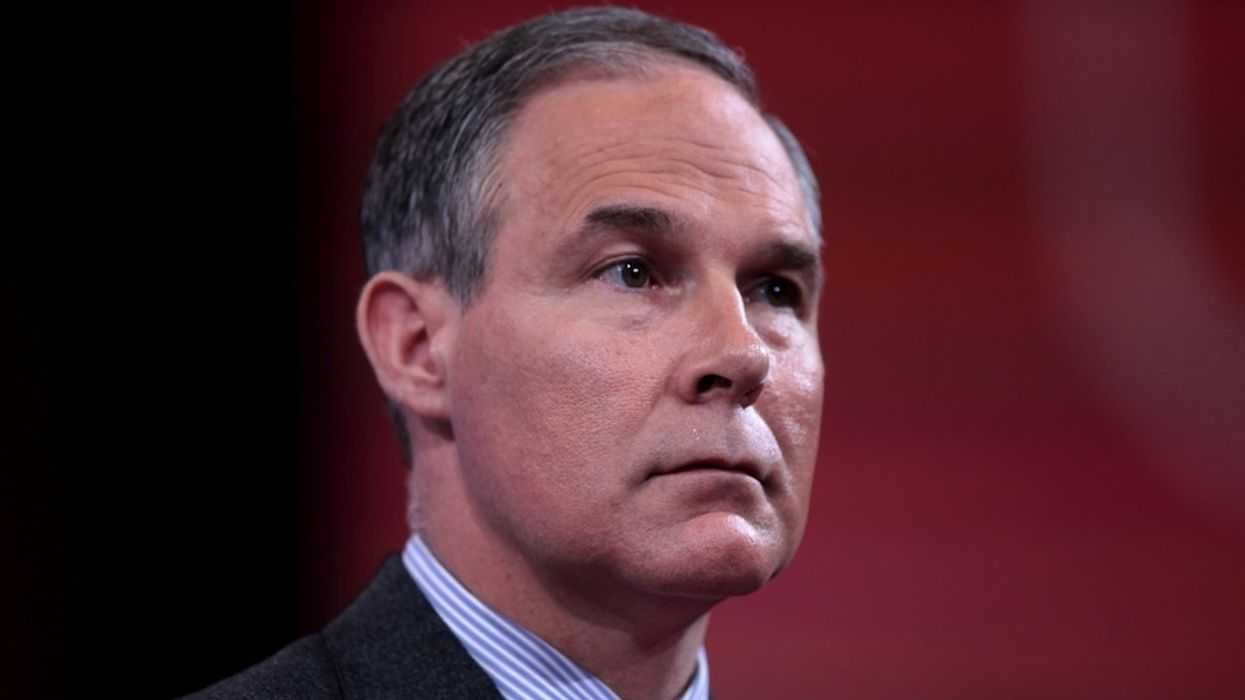 Pruitt and Aides Rack Up $90,000 in Taxpayer-Funded Travel in June Alone