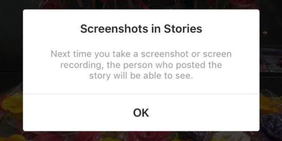Instagram Is Testing Screenshot Alerts