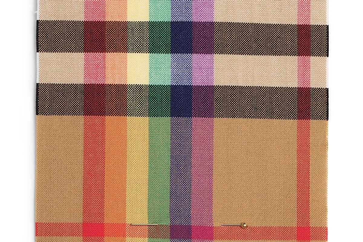 Burberry Releases Rainbow Check Print to Support LGBTQ+ Charities