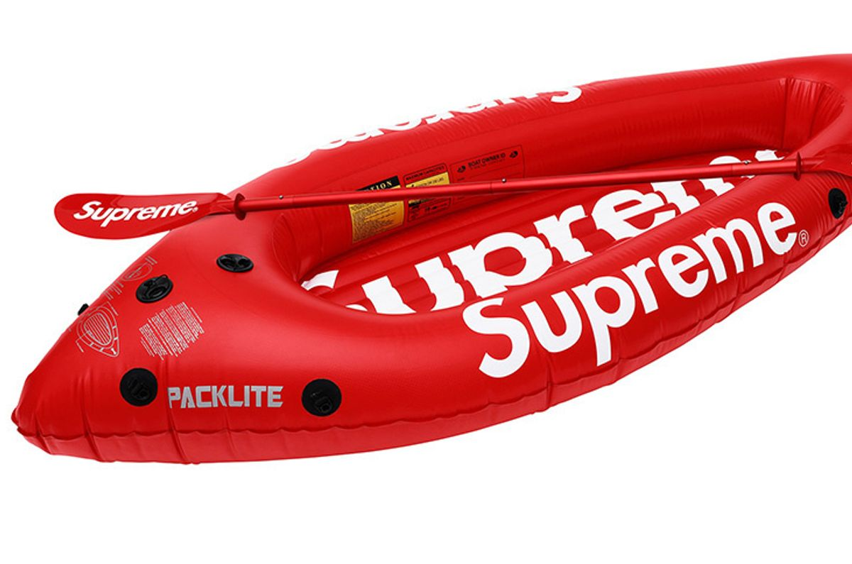 Adventuring Hypebeasts Can Now Buy a Supreme Kayak