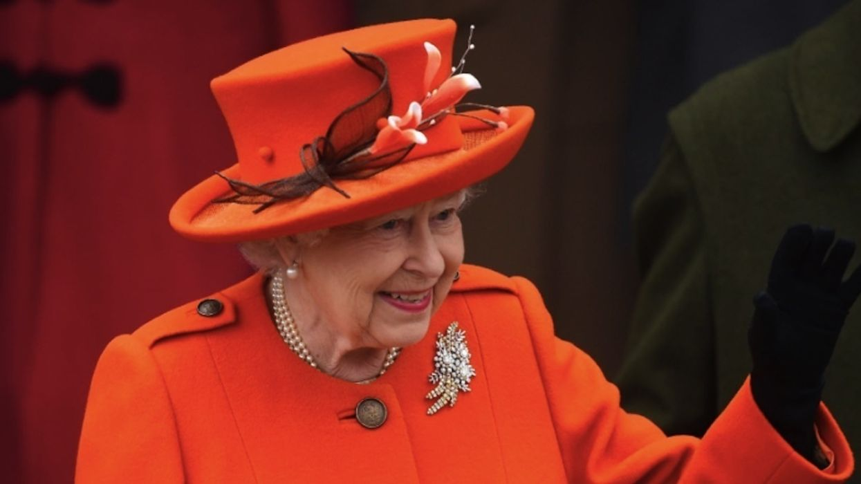 The Queen Declares War on Plastic