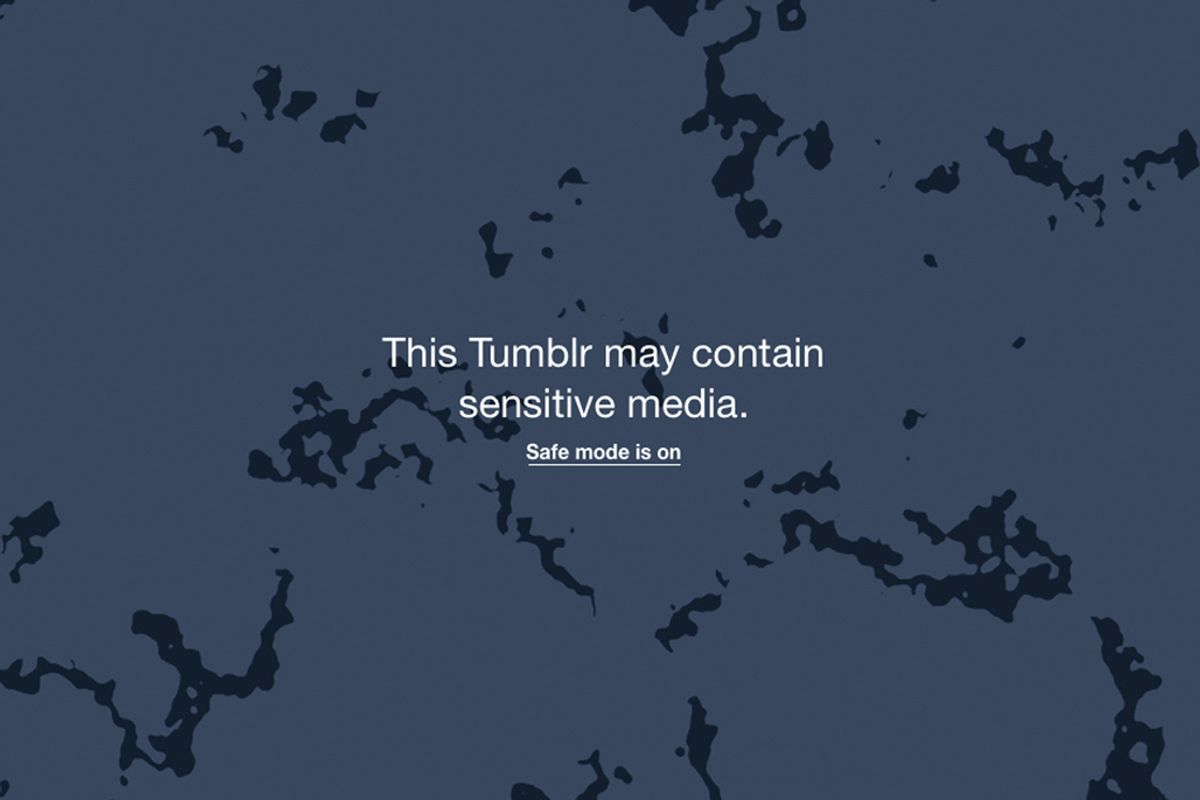 Tumblr's New Safe Mode Update Will Continue to Corner Adult Content Creators