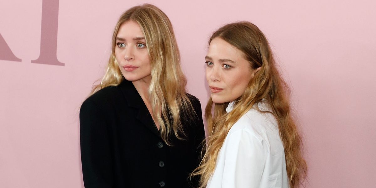 The Olsen Twins Gave Out Crystals at Fashion Week, Surprising No One