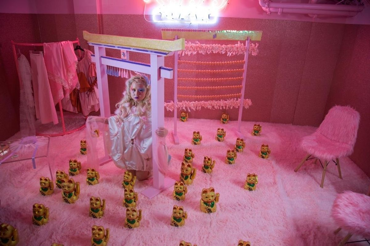 Step into Alice Longyu Gao's Surreal World in New Pop-Up