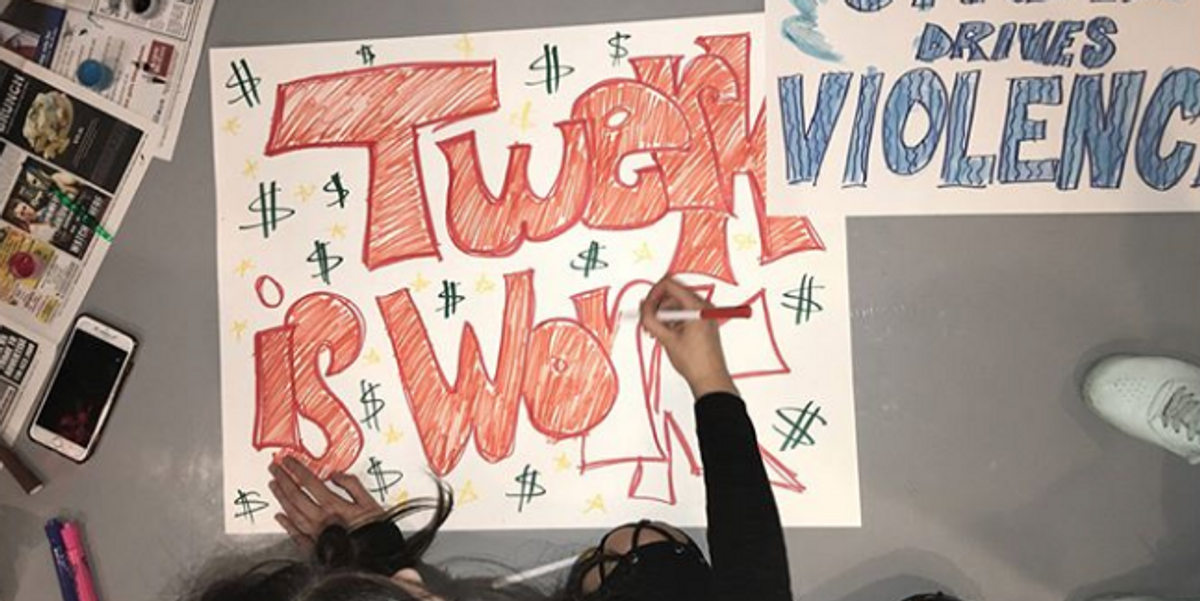 Sex Workers Will Join Together For Tomorrow's NYC Women's March