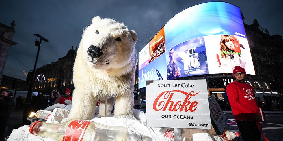 Greenpeace Slams Coca-Cola Plastic Announcement as 'Dodging the Main Issue'