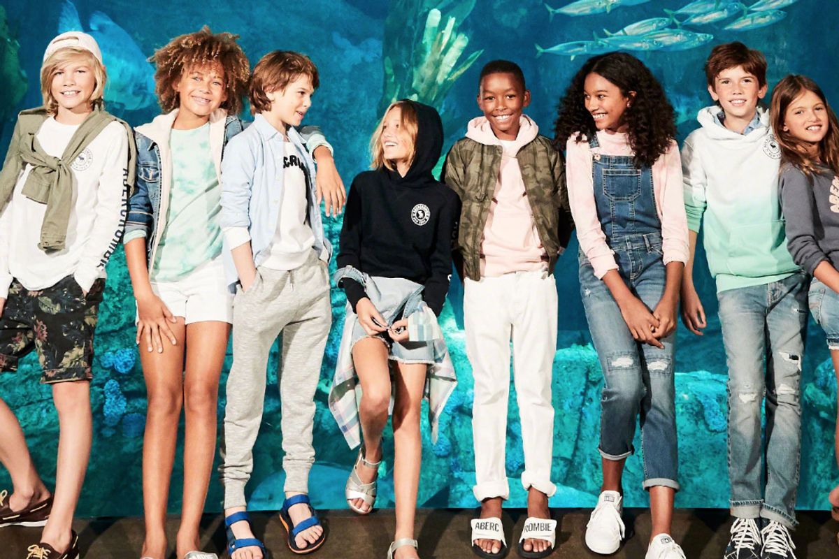 Abercrombie Releases Gender-Neutral Kids Collection