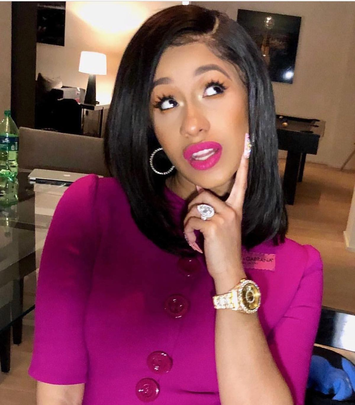Our Many Moods Throughout The Day As Told By Cardi B