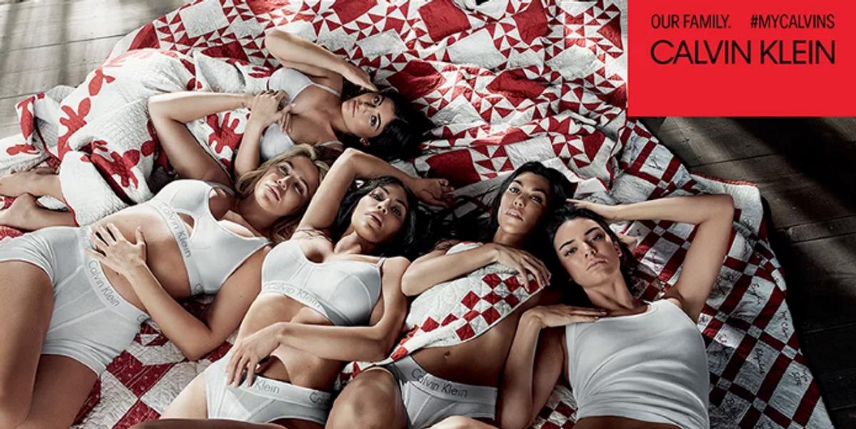The Kardashian-Jenner Sisters Unite For Calvin Klein