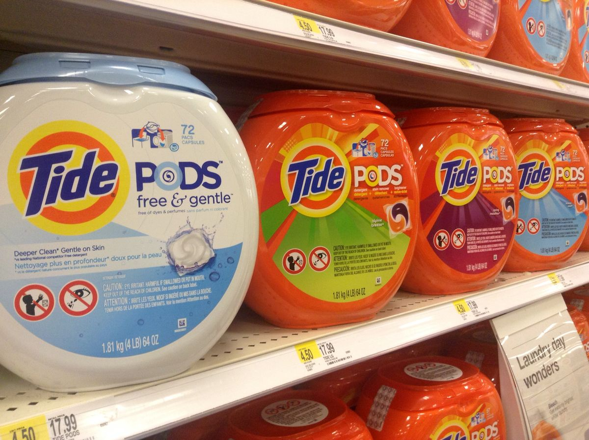 """I Tried The """"Tide Pod Diet"""" For 30 Days And The Results Were Straight 🔥🔥🔥"""