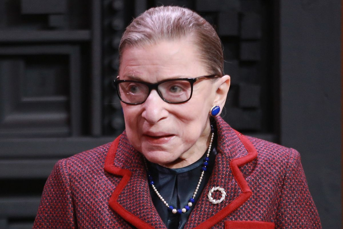 Supreme Court Justice Ruth Bader Ginsburg Shares Her Own Sexual Harassment Story