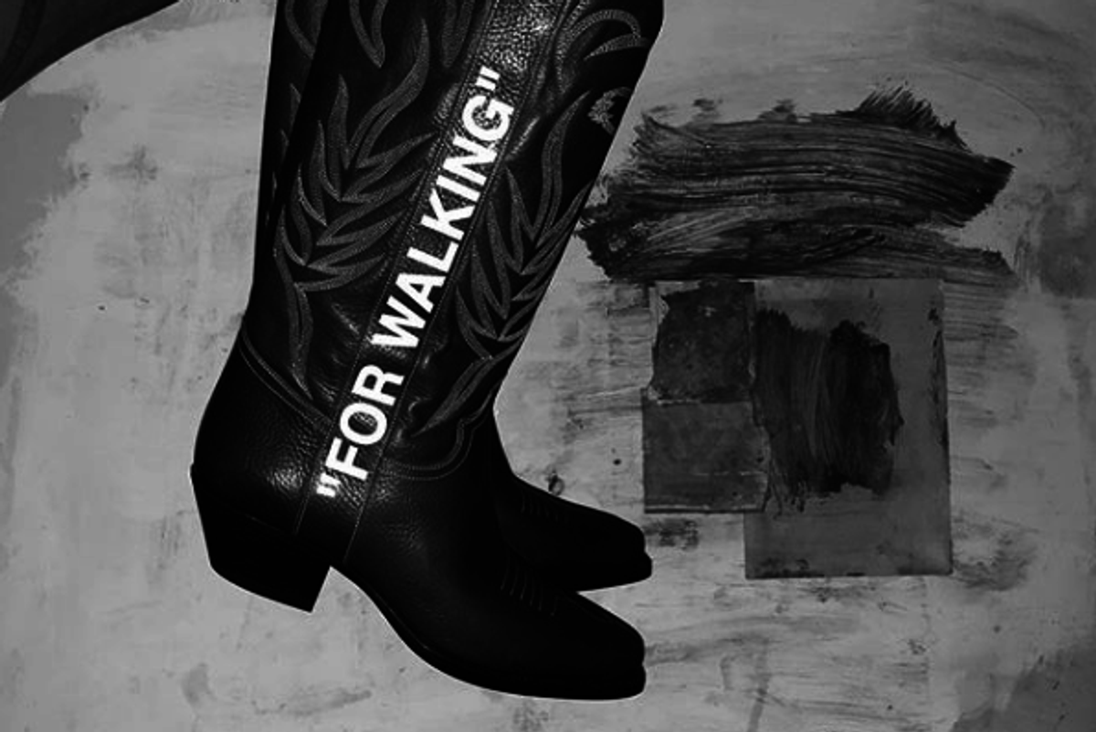 Off-White Cowboy Boots: Yay or Neigh?