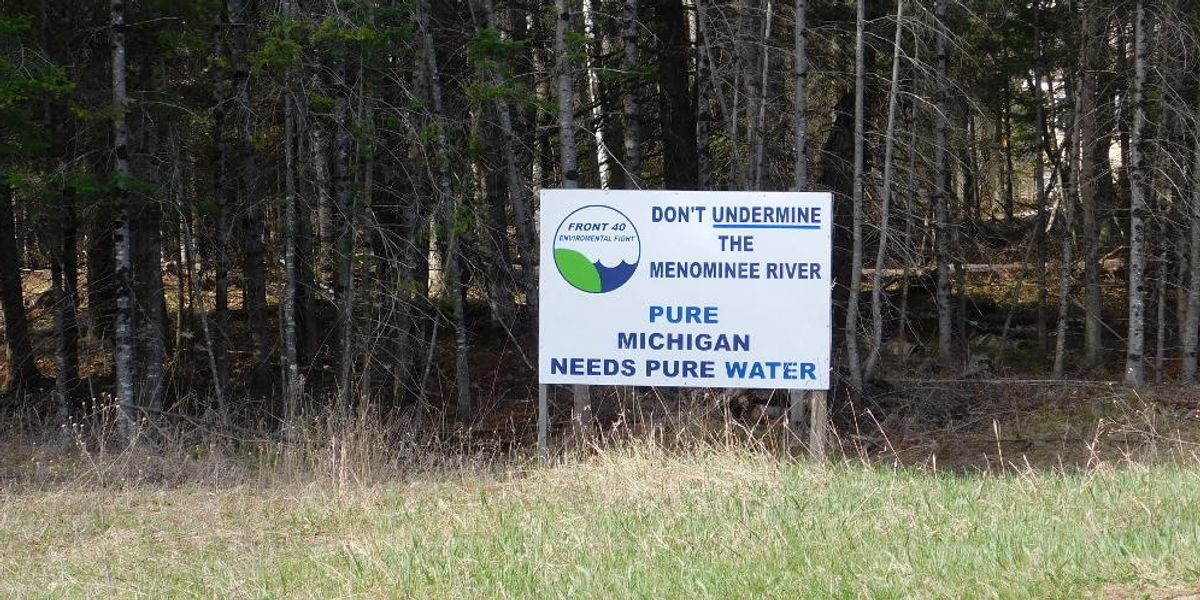 Wisconsin tribe files lawsuit over mine permitting on sacred land